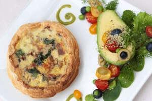 Moorish Mushroom & Gracious Gruyere Tartlet