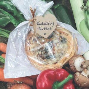 Brazen Broccoli & Cheesy Cheddar Soufflé Tartlet